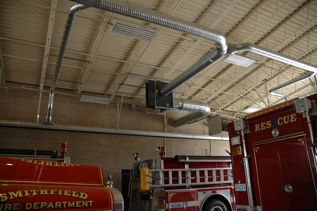Air Cleaning Specialists Fire Station Amp Vehicle Exhaust